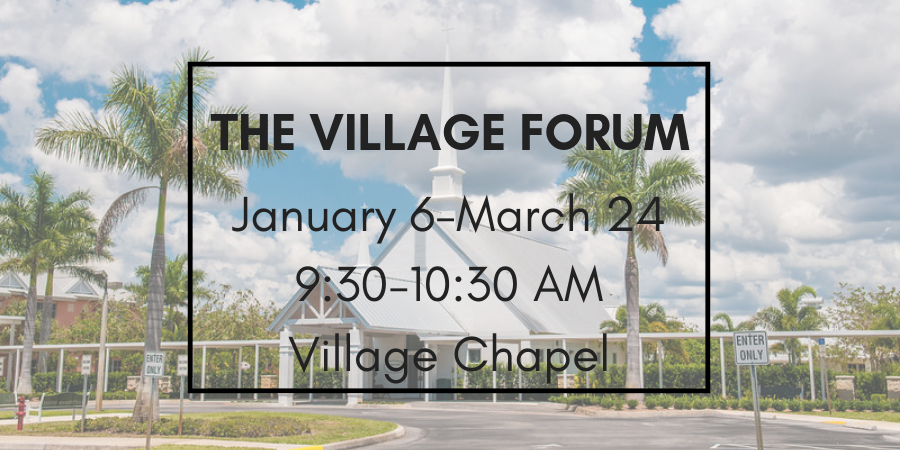 The Village Forum Banner