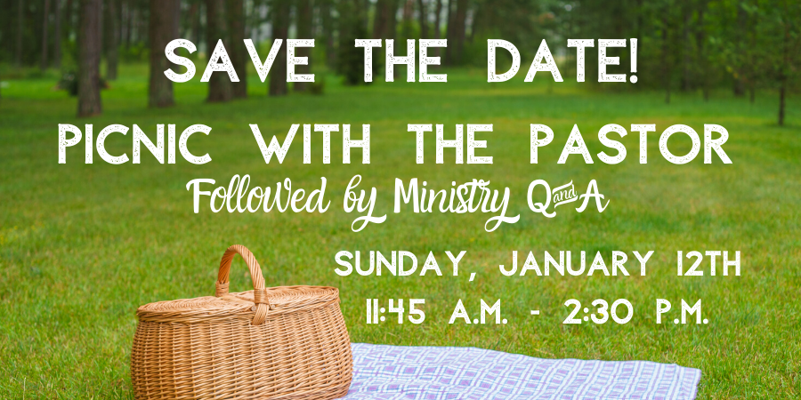 Pastor Picnic Save the Date web