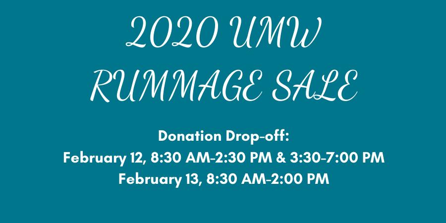 Rummage Sale Web